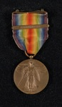 William T. Hawkens' WW1 Victory Medal by United States Army
