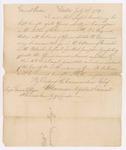 General Orders, Boston, July 1789