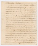Division Orders, Georgetown, Maine, May 1794