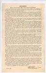 Circular Regarding Payment of Commissions in Revolutionary War, June 23, 1827