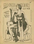 The Highlander: Volume 2, Number 9- October 31, 1936