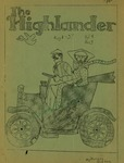 The Highlander: Volume 4, Number 3- August 1, 1937