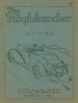 The Highlander: Volume 3, Number 12- June 17,1937