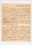 Letter from Governor William King, September 26, 1820 by William King
