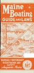 Maine Boating Guide and Laws, 1972 by Maine Department of Inland Fisheries and Game
