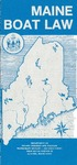 Maine Boat Law, 1985 by Maine Department of Inland Fisheries and Wildlife and Division of Recreational Safety and Registration