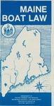 Maine Boat Law, 1989 by Maine Department of Inland Fisheries and Wildlife and Division of Recreational Safety and Registration