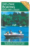 Boating Laws & Rules, 2002 by Maine Department of Inland Fisheries and Wildlife