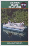 Boating Laws & Rules, 2004 by Maine Department of Inland Fisheries and Wildlife