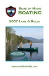 Boating Laws & Rules, 2007