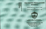 Maine Ice Fishing Regulations (Biennial) : 1993-1994 and 1994-1995 by Maine Department of Inland Fisheries and Wildlife