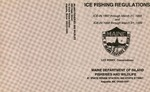 Maine Ice Fishing Regulations : 1997-1998 and 1998-1999 by Maine Department of Inland Fisheries and Wildlife