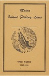 Maine Inland Fishing Laws, Open Water 1949-1950 by Maine Department of Inland Fisheries and Game