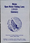 Maine Open Water Fishing Laws 1969 Summary by Maine Department of Inland Fisheries and Game