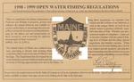 1998-1999 Maine Open Water Fishing Regulations