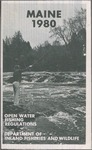 Maine Open Water Fishing Regulations, 1980 by Maine Department of Inland Fisheries and Wildlife