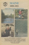 Maine Open Water Fishing Regulations, 2000-2001 by Maine Department of Inland Fisheries and Wildlife