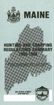 Maine Hunting and Trapping Regulations Summary, 1985-1986