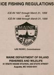 Ice Fishing Regulations, 1997-1998 / 1998-1999