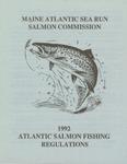 1992 Atlantic Salmon Fishing Regulations