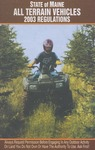 Maine All Terrain Vehicles 2003 Regulations