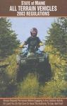 Maine All Terrain Vehicles 2003 Regulations