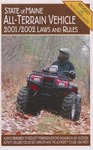 Maine All-Terrain Vehicle 2001/2002 Laws and Rules