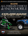 Maine All-Terrain Vehicle & Snowmobile Laws and Rules, 2012-2013