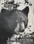 Maine Fish and Game Magazine, Annual Report Issue, Fall 1962