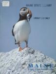 Maine Fish and Wildlife Magazine, Winter 1982