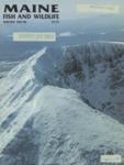Maine Fish and Wildlife Magazine, Winter 1985-86
