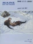 Maine Fish and Wildlife Magazine, Winter 1986-87