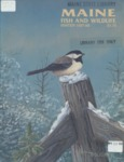 Maine Fish and Wildlife Magazine, Winter 1987-88