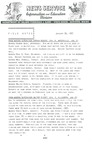 Field Notes - January 26, 1967 by Maine Division of Information and Education and Maine Department of Inland Fisheries and Game