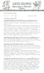 Field Notes - October 17, 1967 by Maine Division of Information and Education and Maine Department of Inland Fisheries and Game