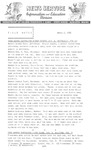 Field Notes - March 2, 1966 by Maine Division of Information and Education and Maine Department of Inland Fisheries and Game