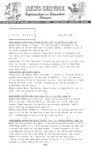 Field Notes - June 23, 1966 by Maine Division of Information and Education and Maine Department of Inland Fisheries and Game