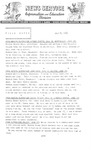 Field Notes - July 8, 1966 by Maine Division of Information and Education and Maine Department of Inland Fisheries and Game