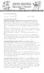 Field Notes - July 29, 1966 by Maine Division of Information and Education and Maine Department of Inland Fisheries and Game