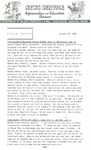 Field Notes - January 27, 1965 by Maine Division of Information and Education and Maine Department of Inland Fisheries and Game