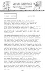 Field Notes - July 29, 1965 by Maine Division of Information and Education and Maine Department of Inland Fisheries and Game