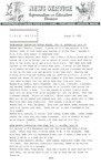 Field Notes - August 5, 1965 by Maine Division of Information and Education and Maine Department of Inland Fisheries and Game