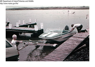 Boating safety by maine department of inland fisheries for Maine fish and game