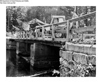 Construction by Maine Department of Inland Fisheries and Game and P Fournier