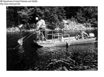 Electro Fishing by Maine Departmentof Inland Fisheries and Wildlife