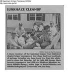 Fish - Sunkhaze Stream Trout Unlimited Chapter Clean - up\ by Maine Departmentof Inland Fisheries and Wildlife