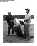 Moose by Maine Department of Inland Fisheries and Game and Tom Carbone