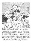 Tidy Says : Equipment Curbs Litter