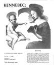 Kennebec: A Portfolio of Maine Writing Vol. 10 1986
