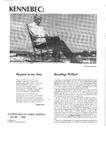 Kennebec: A Portfolio of Maine Writing Vol. 12 1988